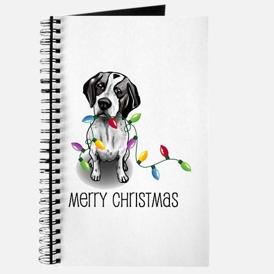 Pointer Christmas Lights Journal