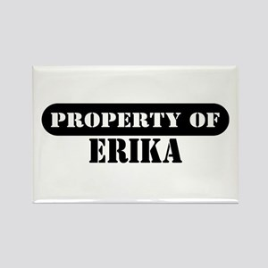 Property of Erika Rectangle Magnet