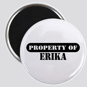 Property of Erika Magnet