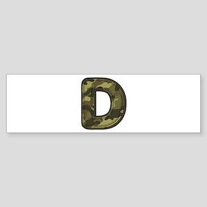 D Army Bumper Sticker
