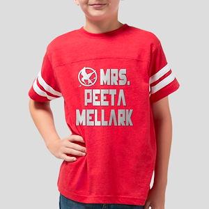 Hunger Games Mrs. Peeta Mella Youth Football Shirt