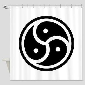 BDSM Symbol Shower Curtain