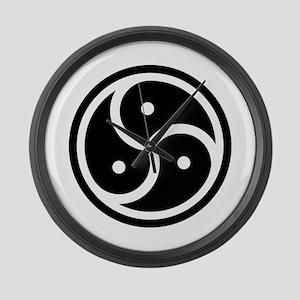 BDSM Symbol Large Wall Clock