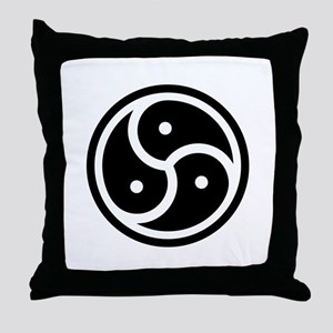 BDSM Symbol Throw Pillow