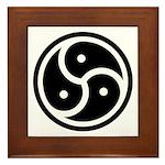 BDSM Symbol Framed Tile