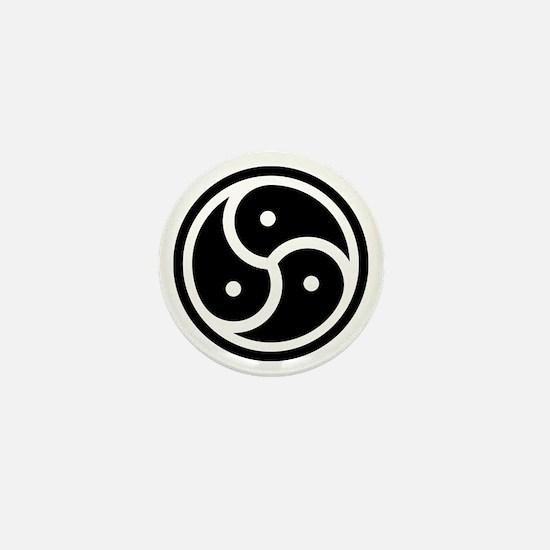BDSM Symbol Mini Button