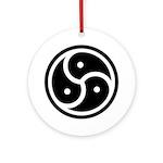 BDSM Symbol Ornament (Round)