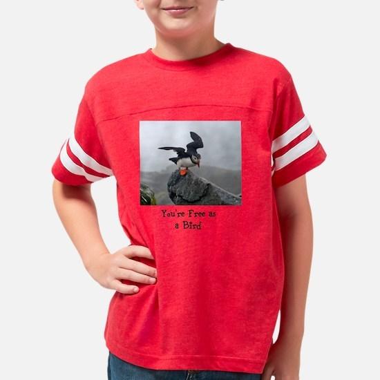 Free Congrats Youth Football Shirt