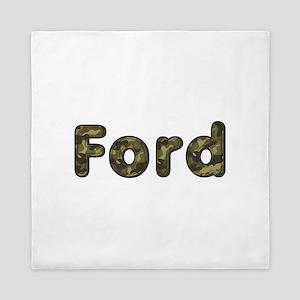 Ford Army Queen Duvet