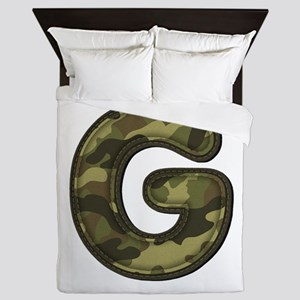 G Army Queen Duvet