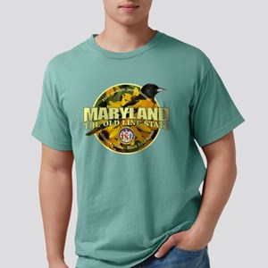 Maryland State Bird & Flower Mens Comfort Colors S