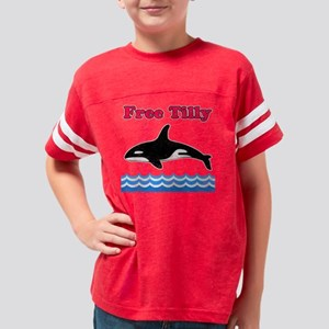 Free Tilly -blk Youth Football Shirt