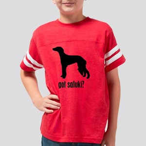 gotSalukisil Youth Football Shirt