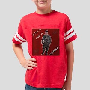 custompillowdesign2 Youth Football Shirt