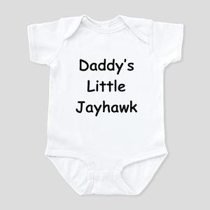 Daddy's Little Jayhawk Infant Bodysuit