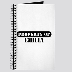 Property of Emilia Journal