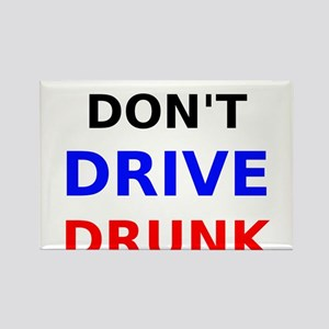 Dont Drive Drunk Rectangle Magnet