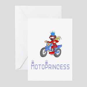 MotoChick Princess Greeting Cards (Pk of 10)
