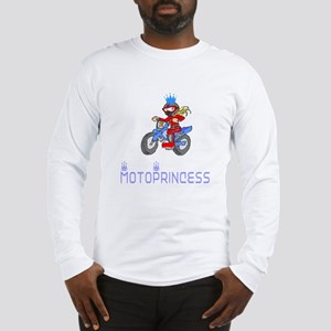 MotoChick Princess Long Sleeve T-Shirt