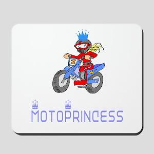 MotoChick Princess Mousepad