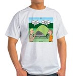 Tent Setup Light T-Shirt