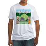 Tent Setup Fitted T-Shirt