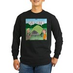 Tent Setup Long Sleeve Dark T-Shirt