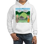 Tent Setup Hooded Sweatshirt