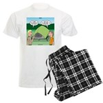 Tent Setup Men's Light Pajamas