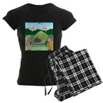 Tent Setup Women's Dark Pajamas