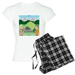 Tent Setup Women's Light Pajamas