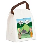 Tent Setup Canvas Lunch Bag
