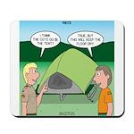 Tent Setup Mousepad