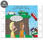 Remote Parking Puzzle