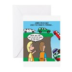 Remote Parking Greeting Cards (Pk of 10)