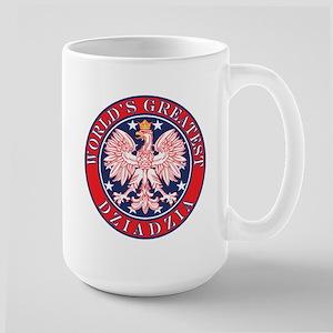 World's Greatest Dziadzia Large Mug