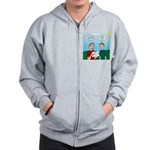 Leave No Trace Map Zip Hoodie