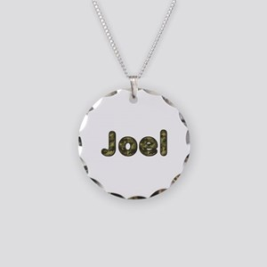 Joel Army Necklace Circle Charm