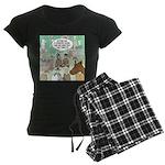 Country Arena Show Women's Dark Pajamas