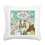 Country Arena Show Square Canvas Pillow