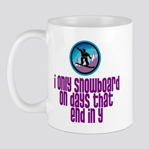 BoardChick Days Mug