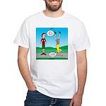 Avoid Blisters White T-Shirt