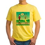 Avoid Blisters Yellow T-Shirt