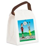 Avoid Blisters Canvas Lunch Bag