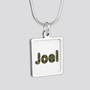 Joel Army Silver Square Necklace