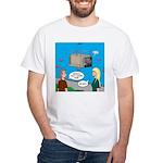 Shark Cage White T-Shirt