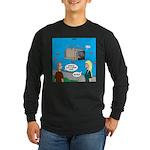 Shark Cage Long Sleeve Dark T-Shirt