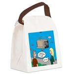 Shark Cage Canvas Lunch Bag