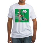 Canopy Tour Zip Line Fitted T-Shirt
