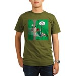Canopy Tour Zip Line Organic Men's T-Shirt (dark)